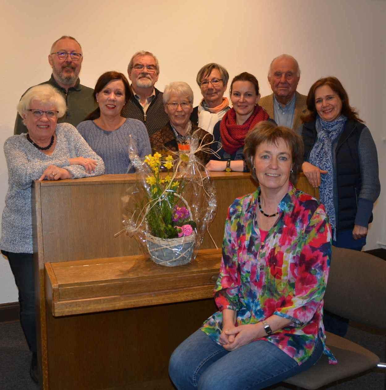 Der Chor-Vorstand 2020